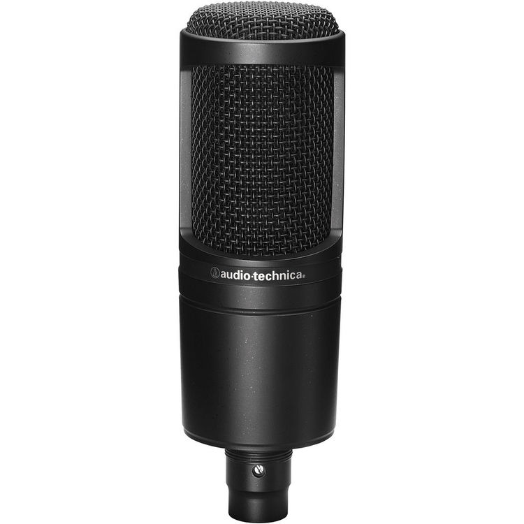Microphone Audio Technica AT2020 Black Front